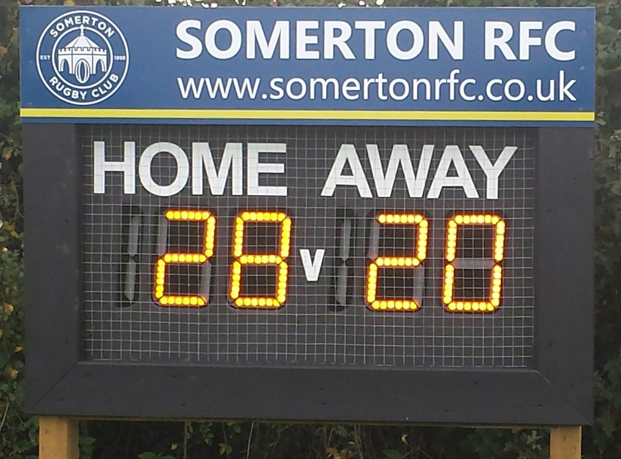 LED Electronic Rugby Union Scoreboard Android App