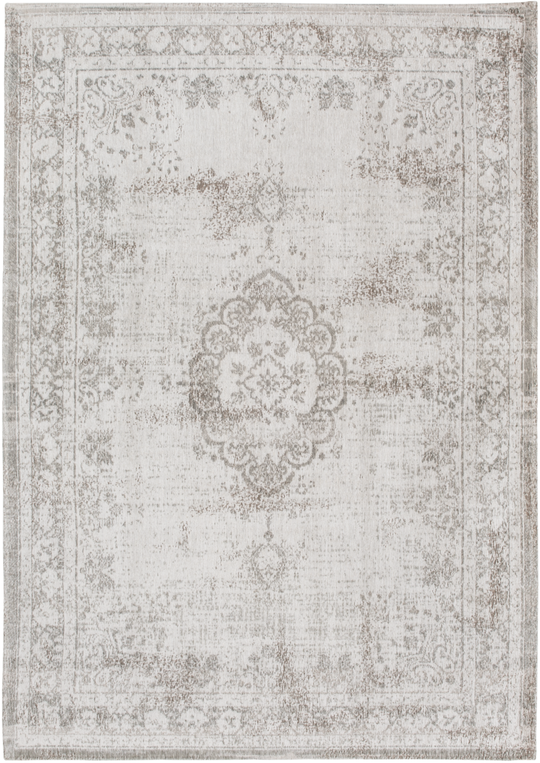 Louis De Poortere Fading World 8383 Salt Amp Pepper Rug Best Prices And Free Delivery At Buyarug Co Vloerkleed Louis De Poortere Vloerkleed Vloerkleed Wit