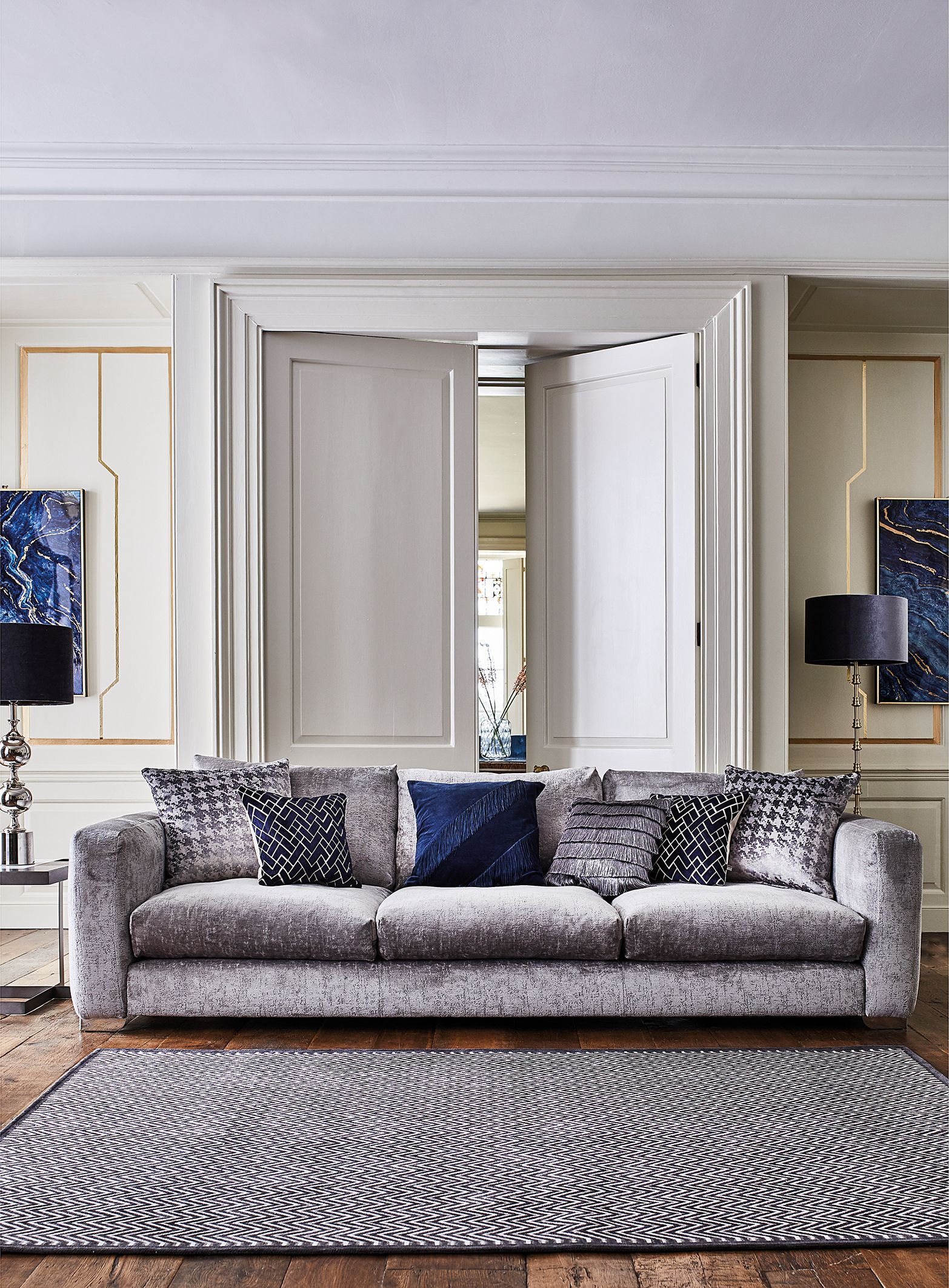 cornell extra large sofa  sofas  living room in 2020