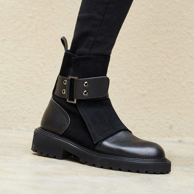 Photo of Chiko Earl Wrap Up Ankle Boots