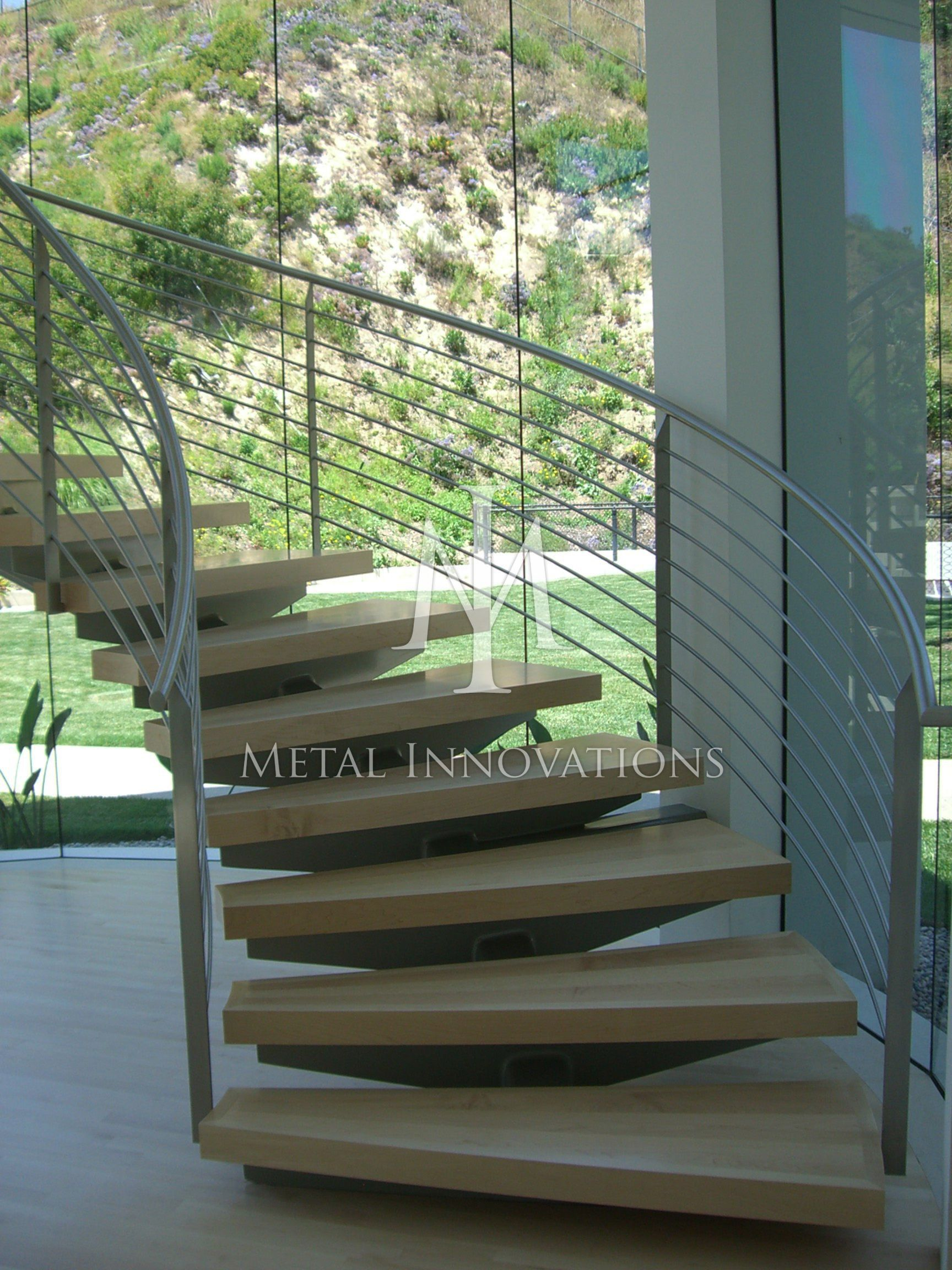 Stair Rails, Modern Rails, Contemporary Rails, Stainless Steel Rails ...