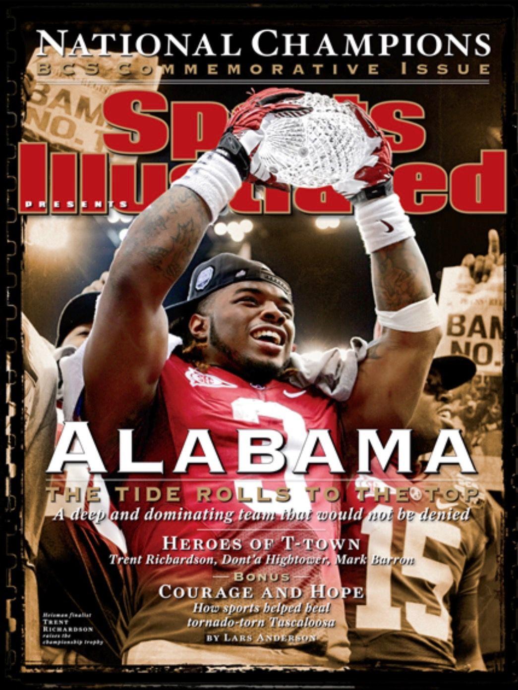 Alabama Crimson Tide (The Tide Rolls To The Top) January