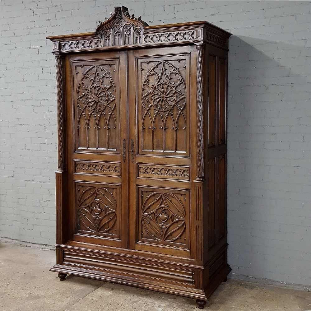 19th Century Gothic French Armoire Www