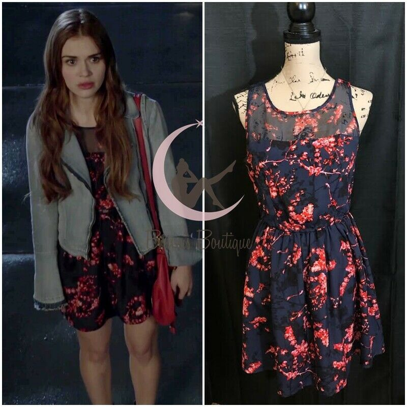 ASO Lydia Martin Guess Tasha Dress Sz 4 6 Teen Wolf