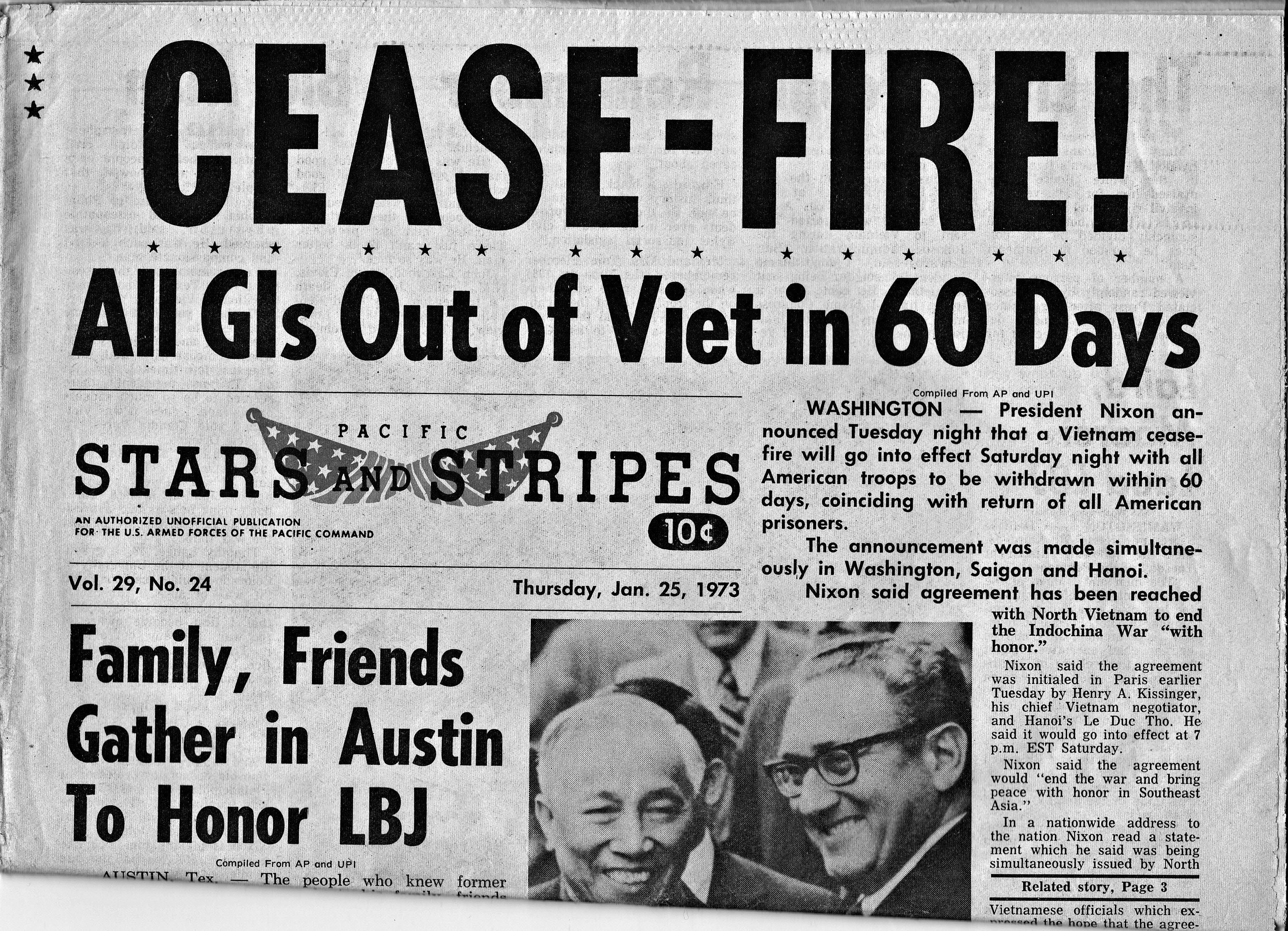 Image result for vietnam war peace accords