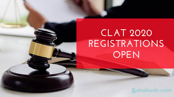 Clat 2020 Registrations Open How To Apply For Admission To Law School In 2020 Law School Admissions How To Apply