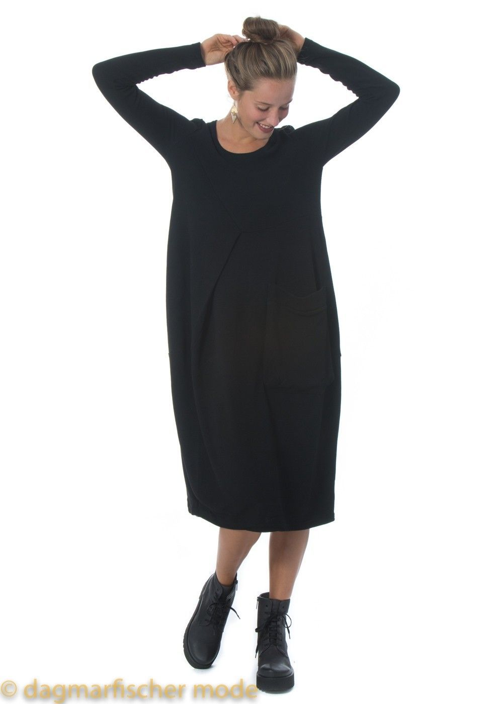 Kleid Gofra von ELSEWHERE in black - dagmarfischer mode ...