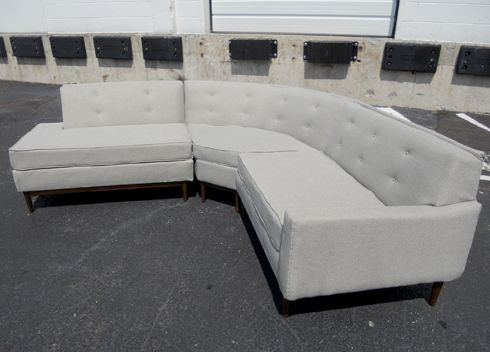 the reupholstered sectional sofa diy home furnishings diy rh pinterest com