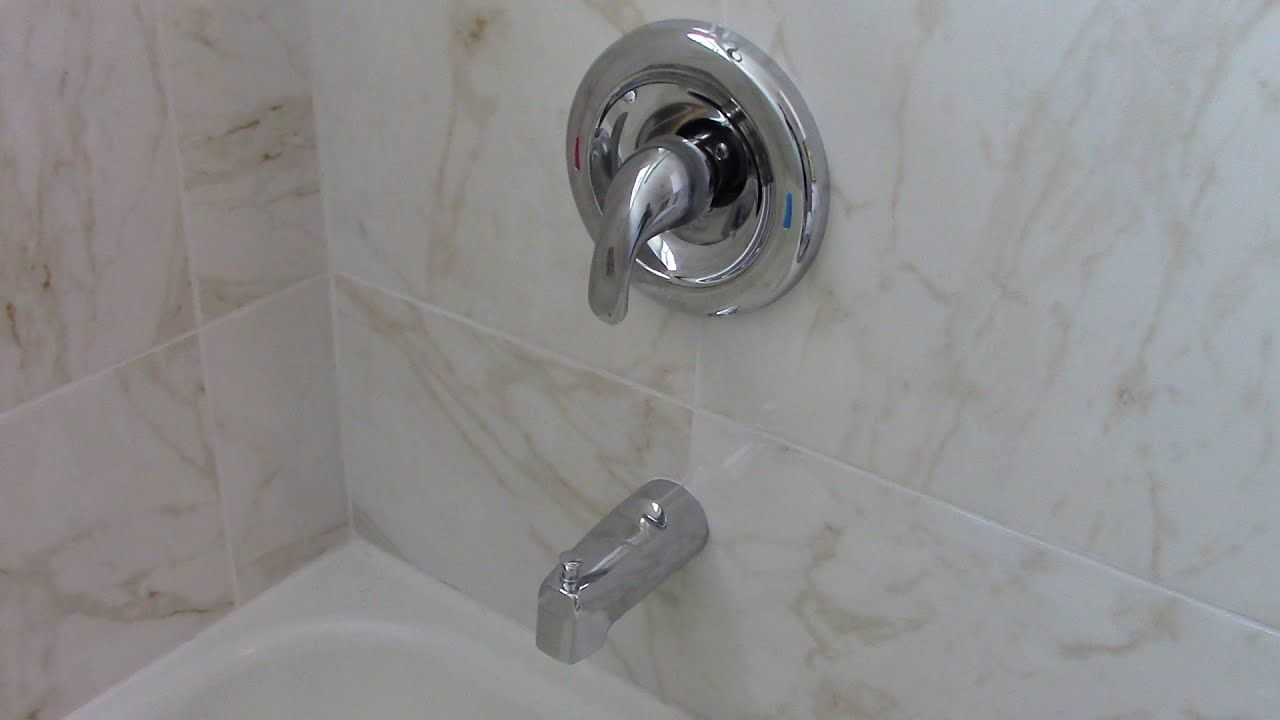 how to install a moen adler tub and
