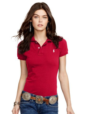 Skinny-Fit Polo Shirt - Create Your Own Create Your Own - RalphLauren.com