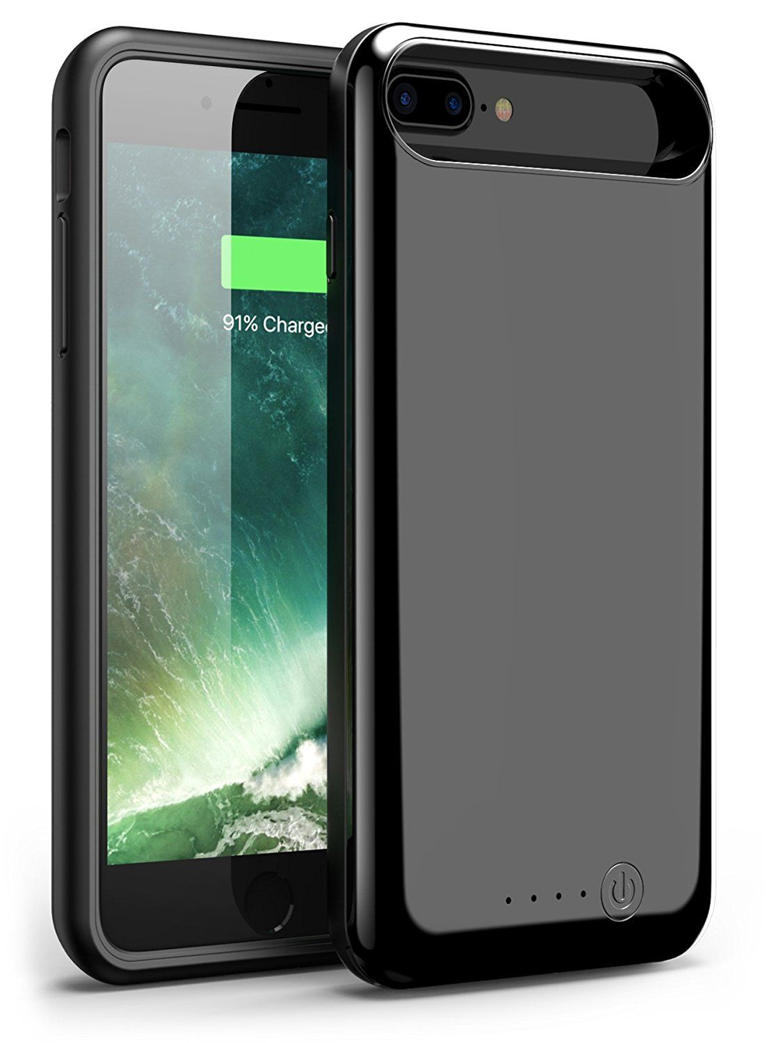 Free Shipping Buy Best Iphone 7 Plus Battery Case Foxin 8000mah Extended Battery Charger Case Rechargeable Power Bank Iphone 8 Plus Battery Cases Iphone
