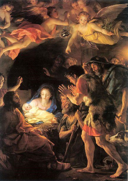 Anton Raphael Mengs, (1728-1779): Adoración de los pastores.