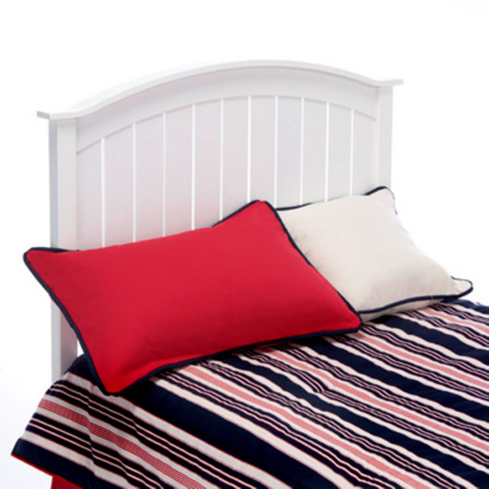 Fashion Bed Group Finley Headboard White, Size Twin Bed