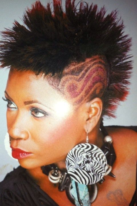 Pin By Nicole Sanchez On Hairstyles To Love Funky Short Hair