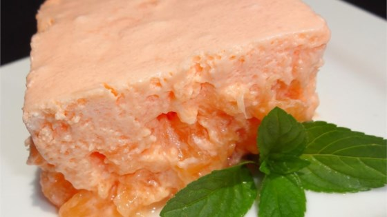 Orange Buttermilk Salad Recipe In 2020 Buttermilk Recipes Congealed Salad Dessert Salads