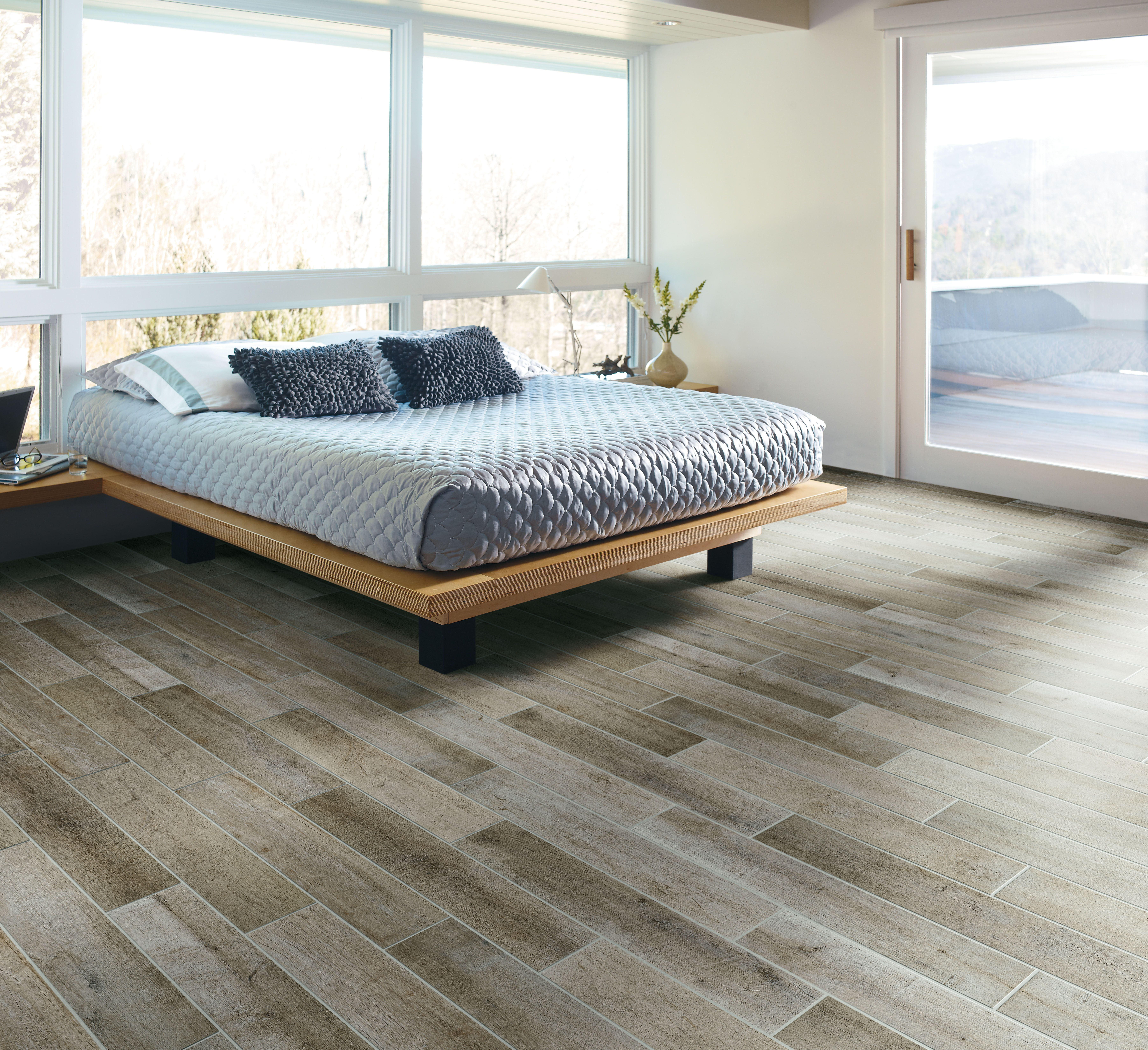 crossvilles speakeasy porcelain tile collection no trees harmed in the creation of this beautiful wood - Porcelain Tile Bedroom Interior