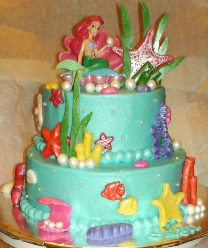 Heeellloooo Next Birthday Cake The Little Mermaid Pinterest