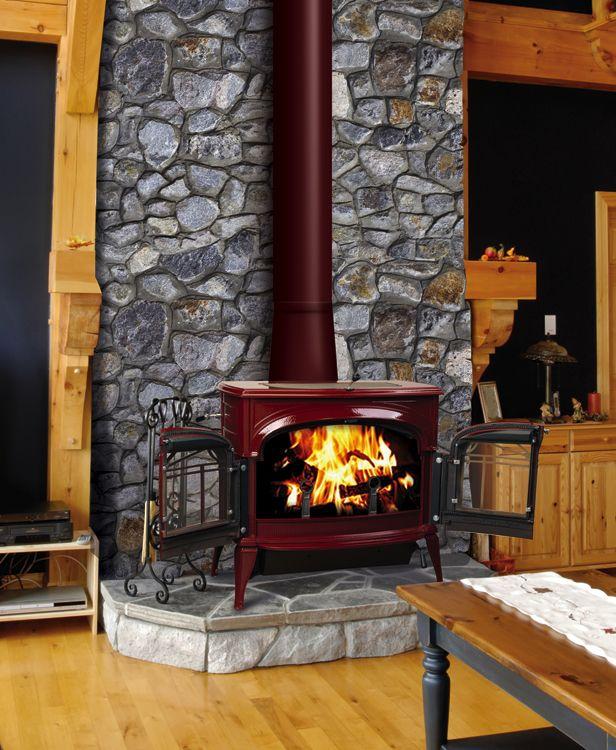 Vermont Casting Gas Fireplace Part - 39: Gas Burning Stove Hearth | Vermont Castings Chicago | Vermont Castings  Naperville | Vermont .