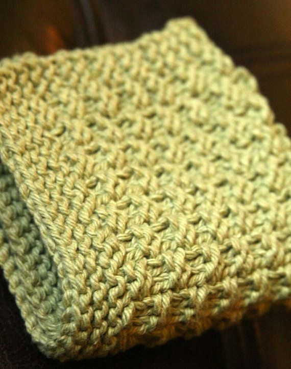 dishcloth Pattern | Cotton Knit/Crochet | Pinterest | Garn, Decken ...