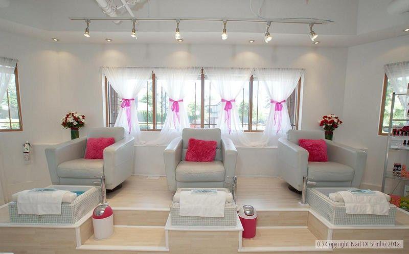 Spa Unas Bs Decoracion De Salon De Belleza Salones De Unas Y