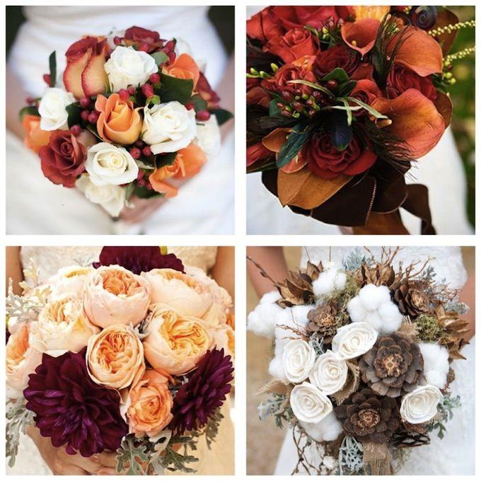bouquet de mariage d'automne