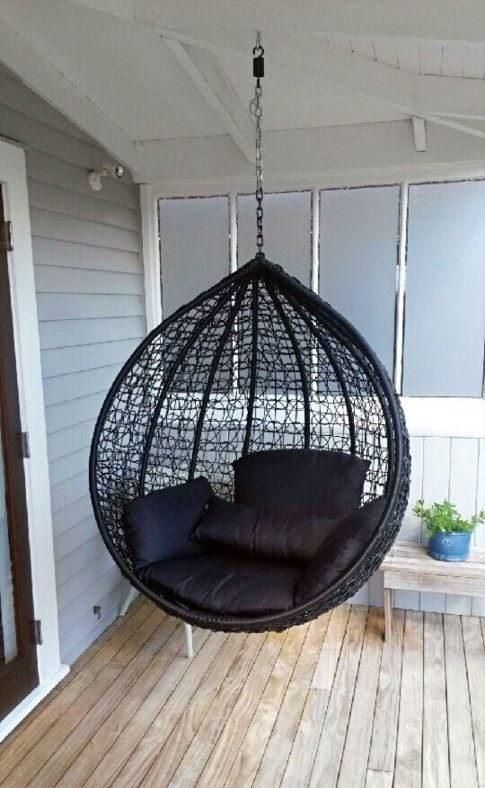 KIWI SIZE PE HANGING EGG CHAIR - BASKET ONLY | Hanging egg ...