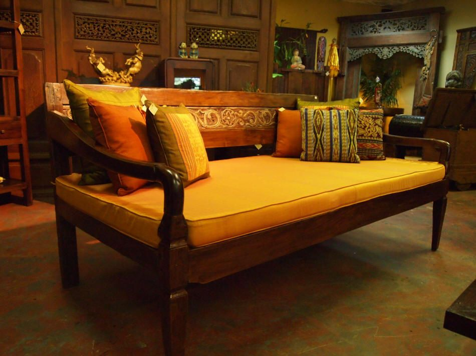 Carved Panel Balinese Daybed Gado Gado Daybeds Are Just The Best Spot To Lounge Away Get