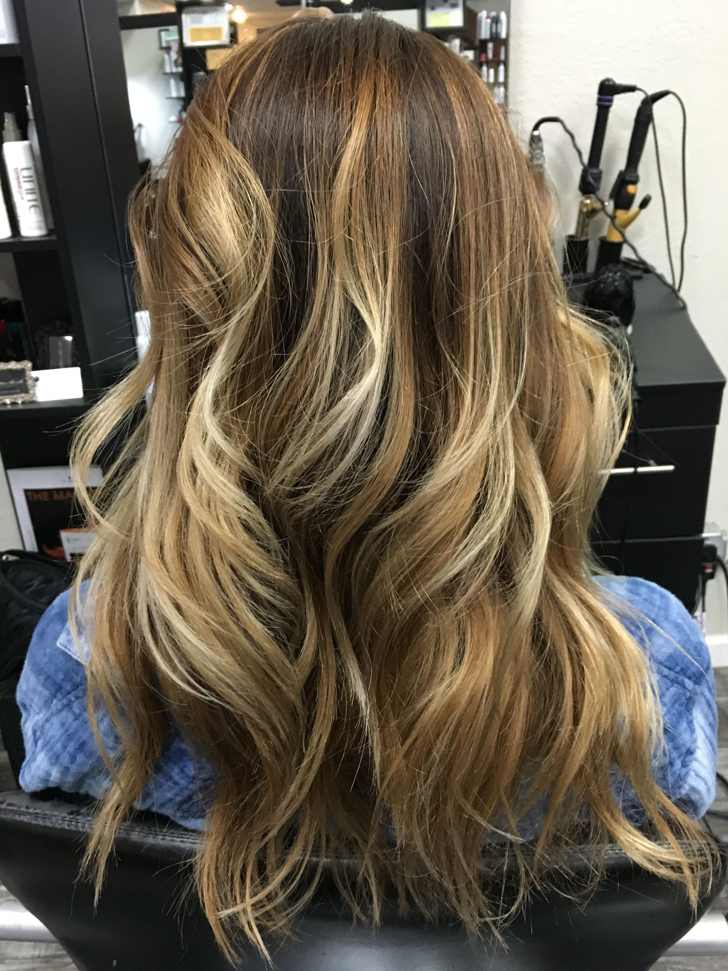 Balayage Hair Blonde Highlights Ombr Hair Babylights Hair