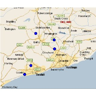 Bexhill On Sea Map Map of Bexhill | Bexhill on Sea & more memories | Pinterest | Map  Bexhill On Sea Map