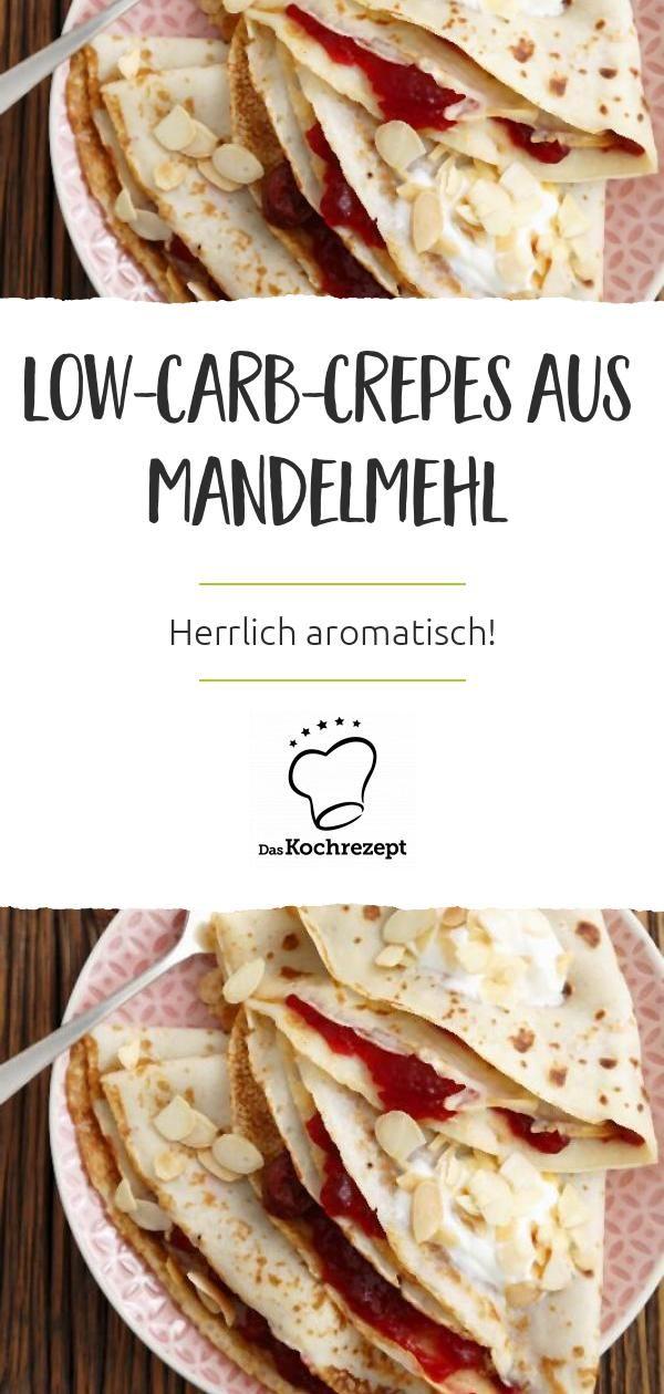 Low-Carb-Crepes aus Mandelmehl