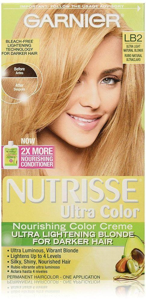 Garnier Nutrisse Ultra Color Nourishing Color Creme Lb2 Ultra Lt