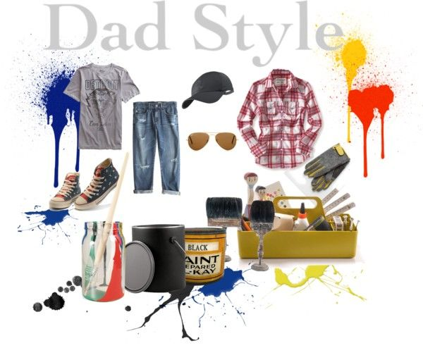 Dad Style: Dress Like Your Dad Contest, created by kathyaalrust on Polyvore