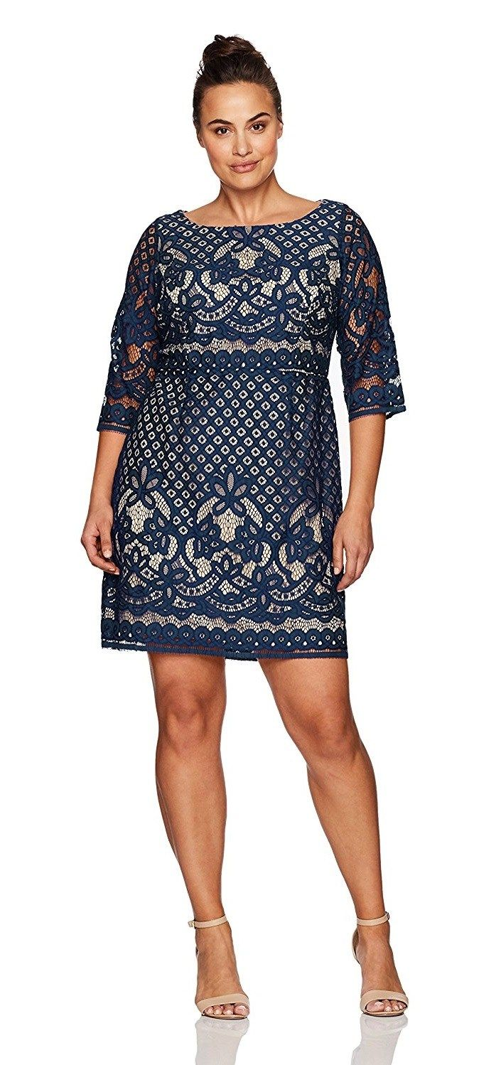 39 Plus Size Party Dresses {with Sleeves