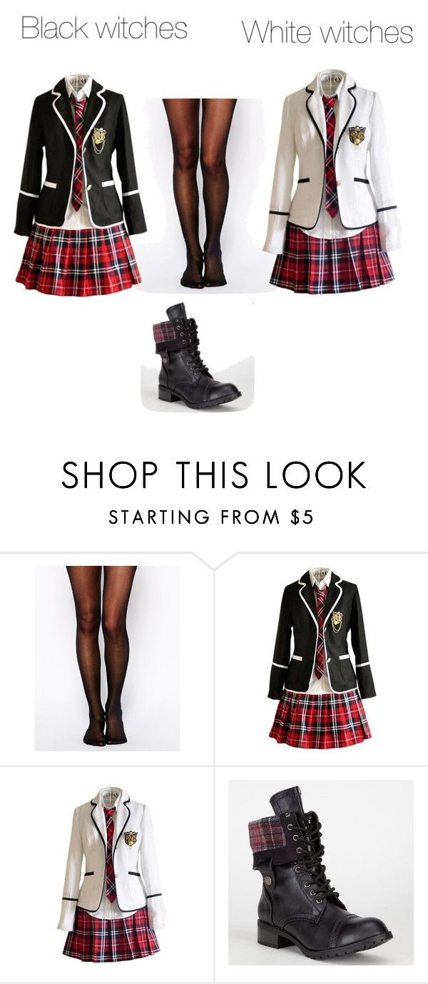 """""""Black and White"""" by shenyra ❤ liked on Polyvore featuring Wolford and Soda"""