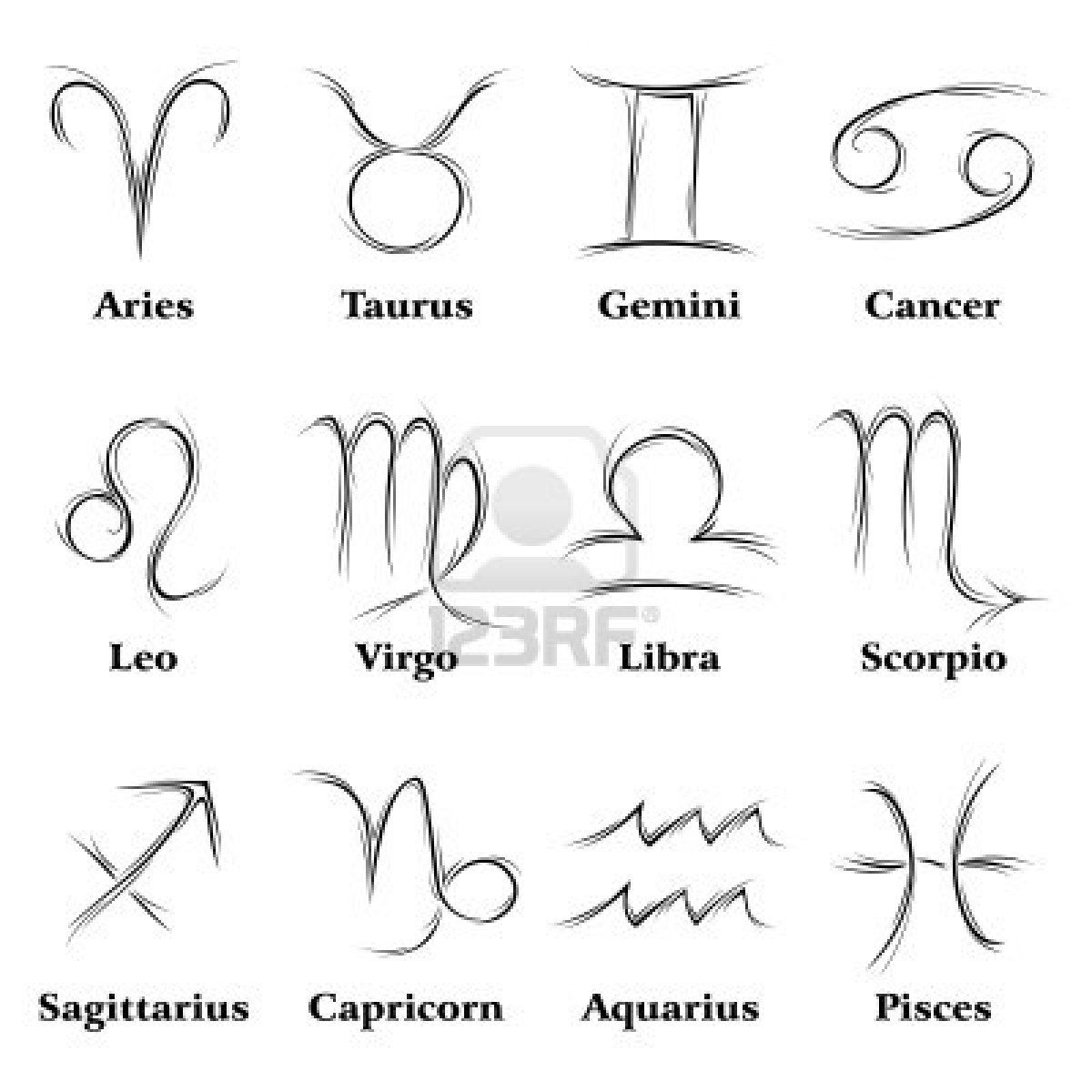 Zodiac signswould be a cool idea for a tattoonce im born zodiac signswould be a cool idea for a tattoo buycottarizona Images