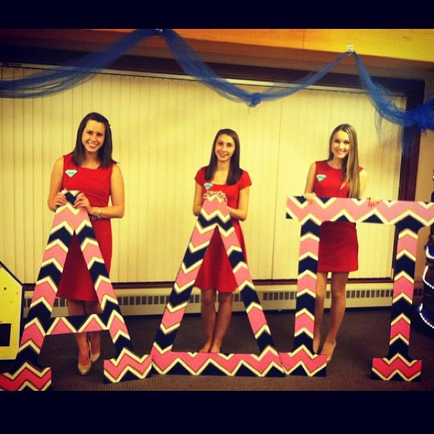 ADPi letters These are sisters from MY chapter, the Theta Theta chapter!! :)