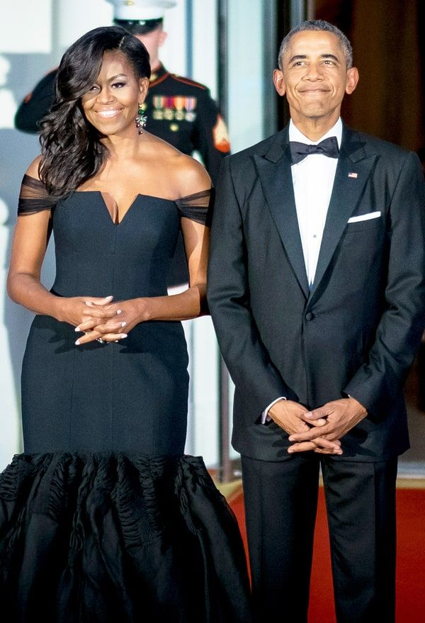 President Barack Obama I Love Michelles Curves  Love -4402