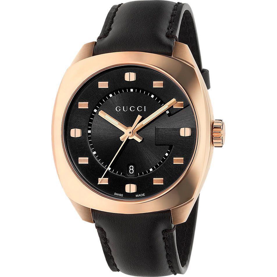 Werbung Wg Verlinkung Unisexuhr Ya19 Von Gucci Gefunden Bei Christ Lederuhren Uhren Herren Uhren