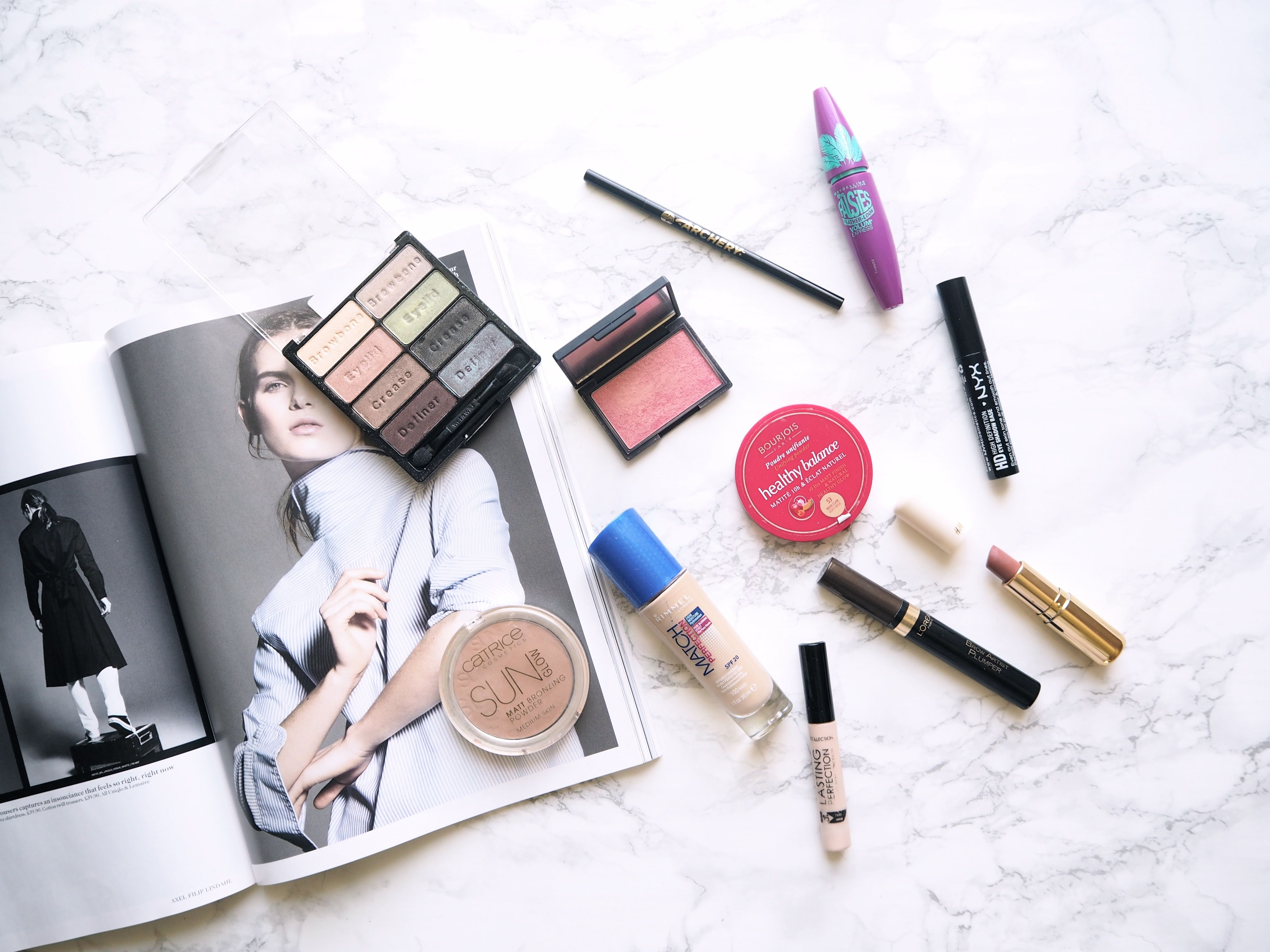 A drugstore makeup starter kit for anyone looking to get into makeup or anyone searching for a few new favourites!