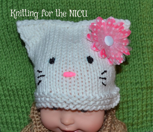 Free Pattern: Hello Kitty in NICU (Micro-Preemie thru ...