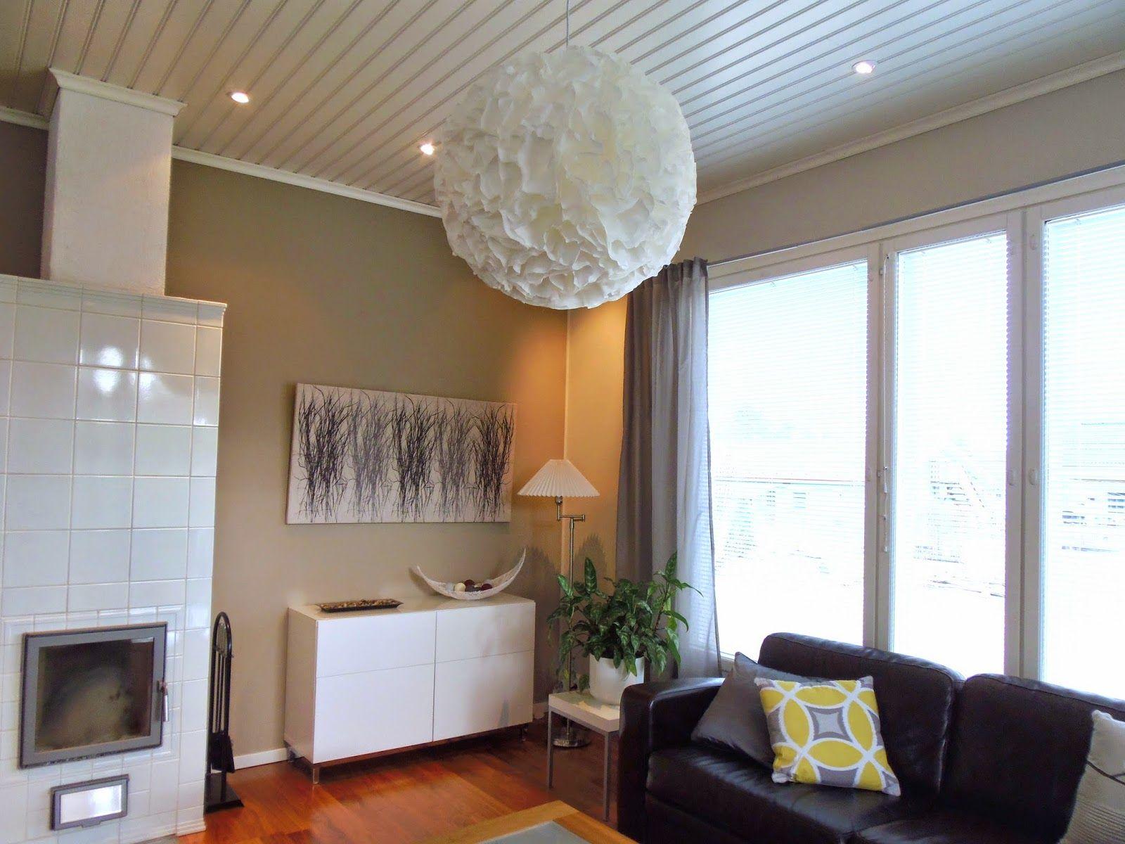 tavallista arkea: DIY, coffee filter light