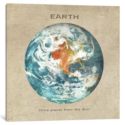 Mercury Row Earth Painting Print on Wrapped Canvas