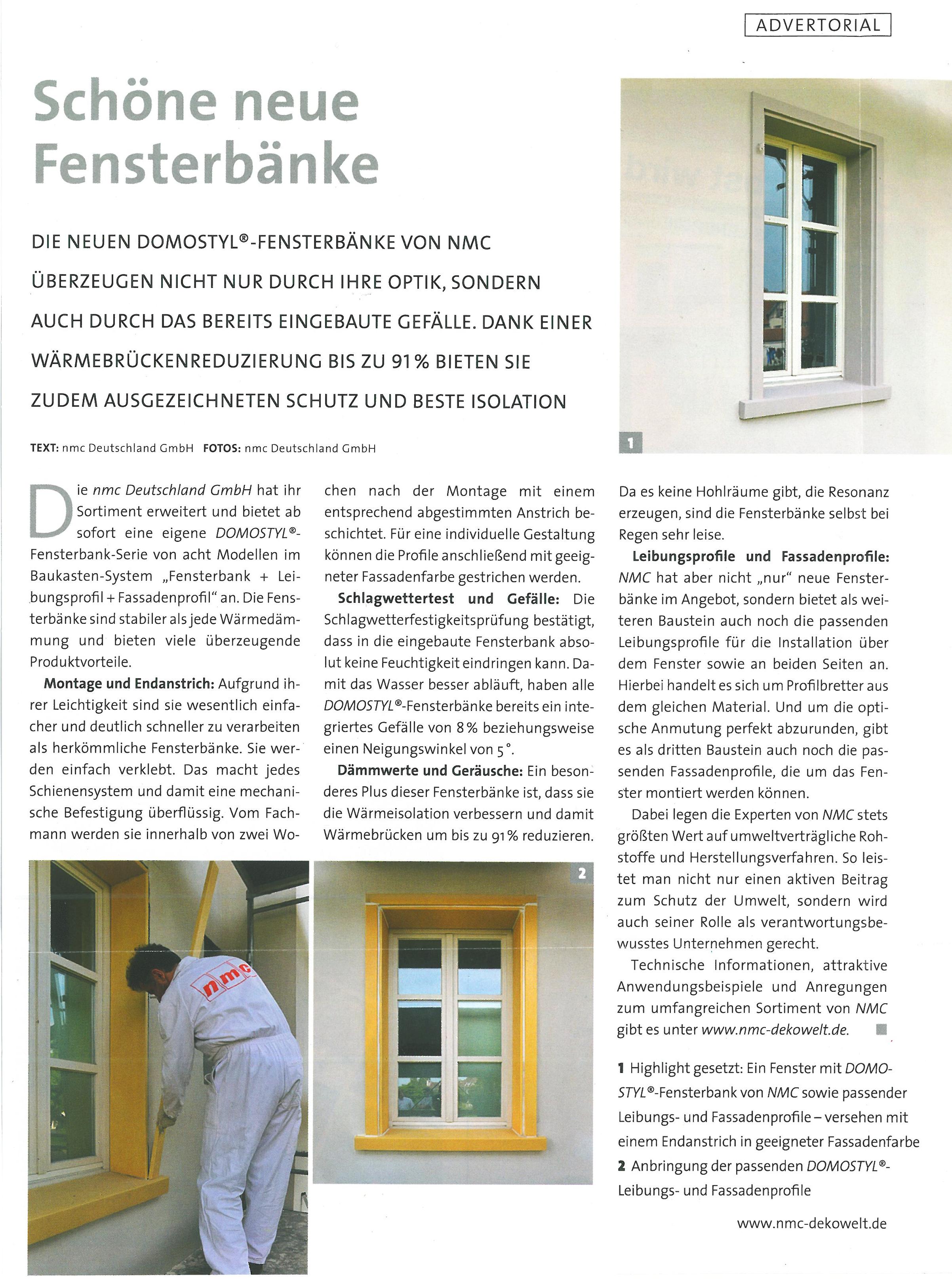 Schone Neue Fensterbanke Magazin Bauidee Media Pinterest
