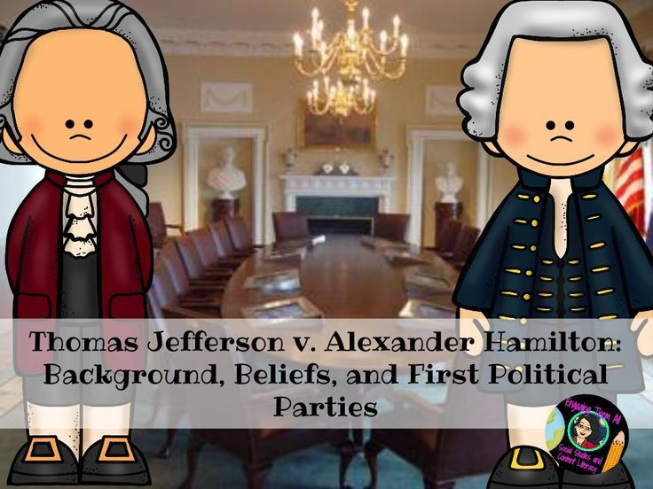 FREE - Thomas Jefferson v. Alexander Hamilton: Background, Beliefs ...