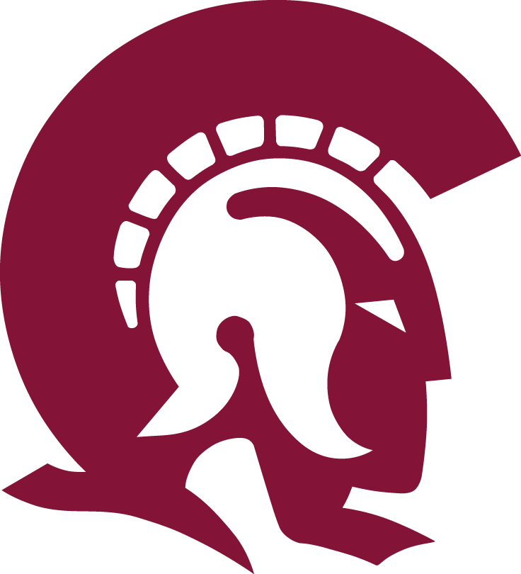 arkansas little rock trojans primary logo 1997 sports logos rh pinterest com trojan head logos trojan logo clip art
