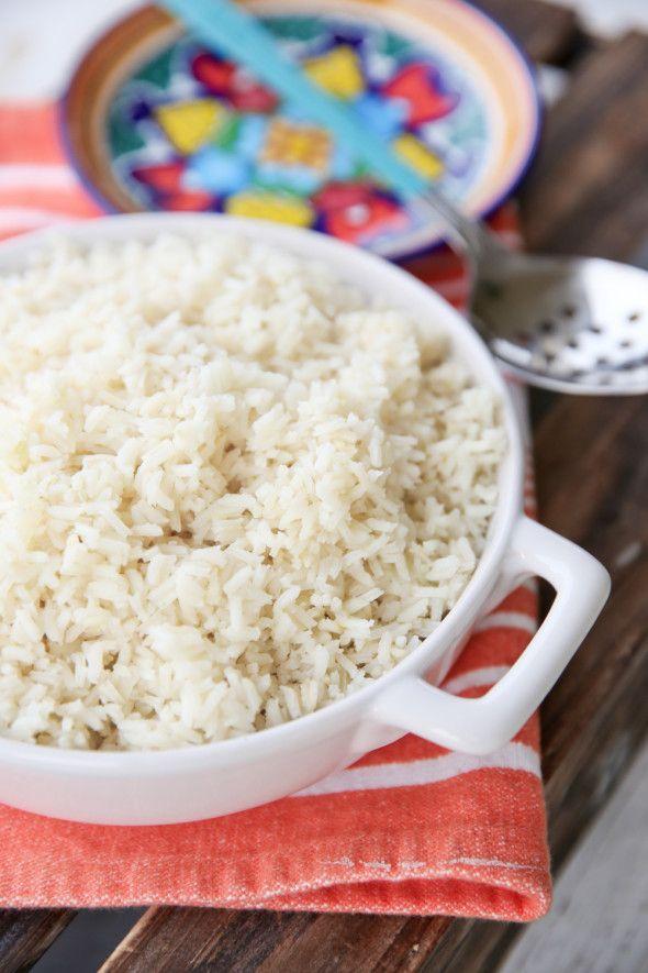 Brazilian Style White Rice Recipe Brazilian Rice Rice Food