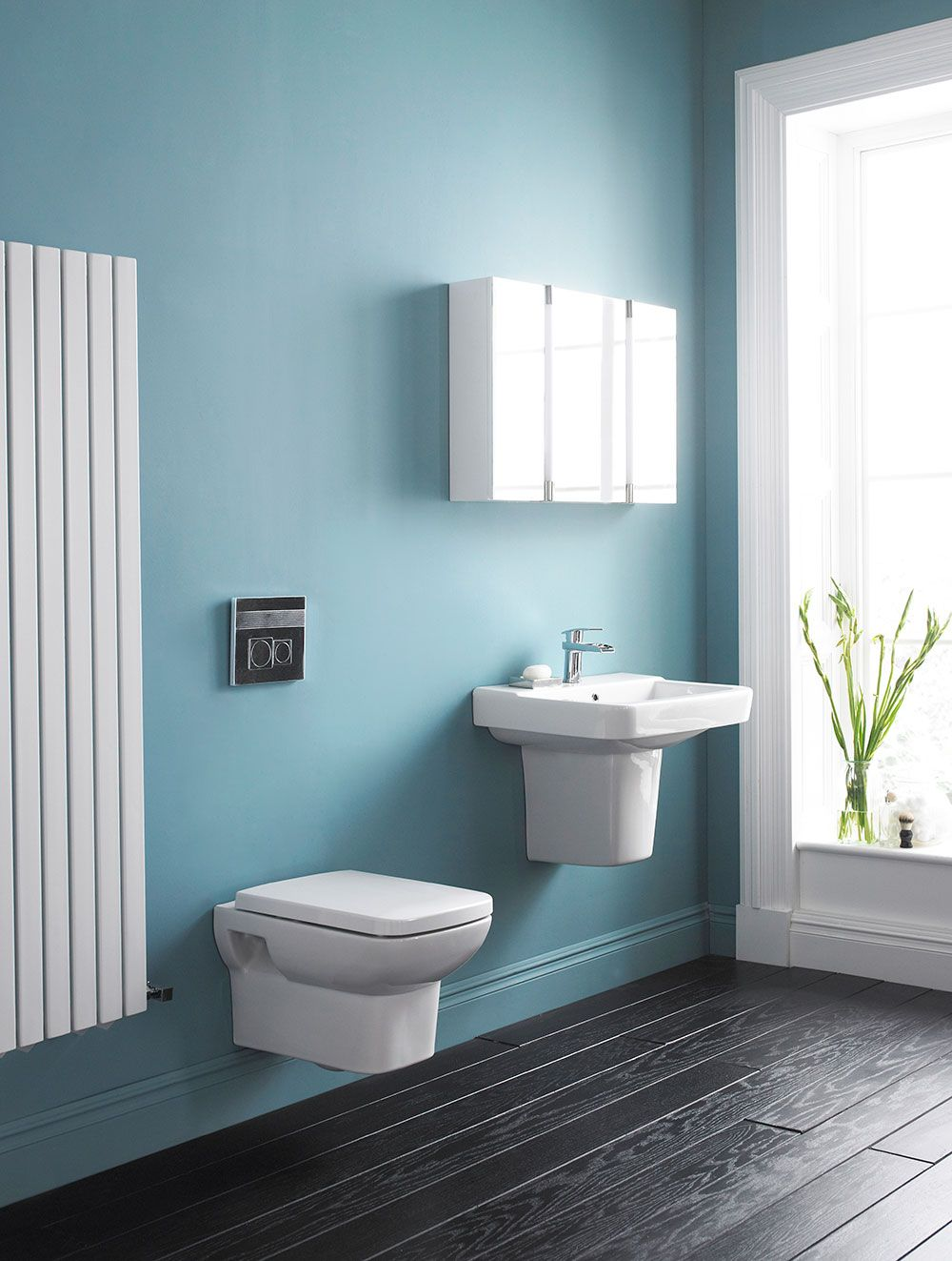Save space in your bathroom with a stylish colosseum radiator from ...