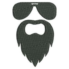 All Designs :: 2016 :: Beard and Glasses