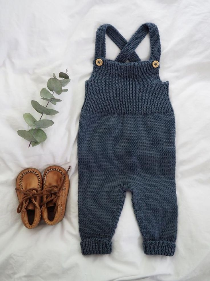 Photo of Willum's Overalls, baby romper, blue, knitted, baby boy, baby fashion, baby …