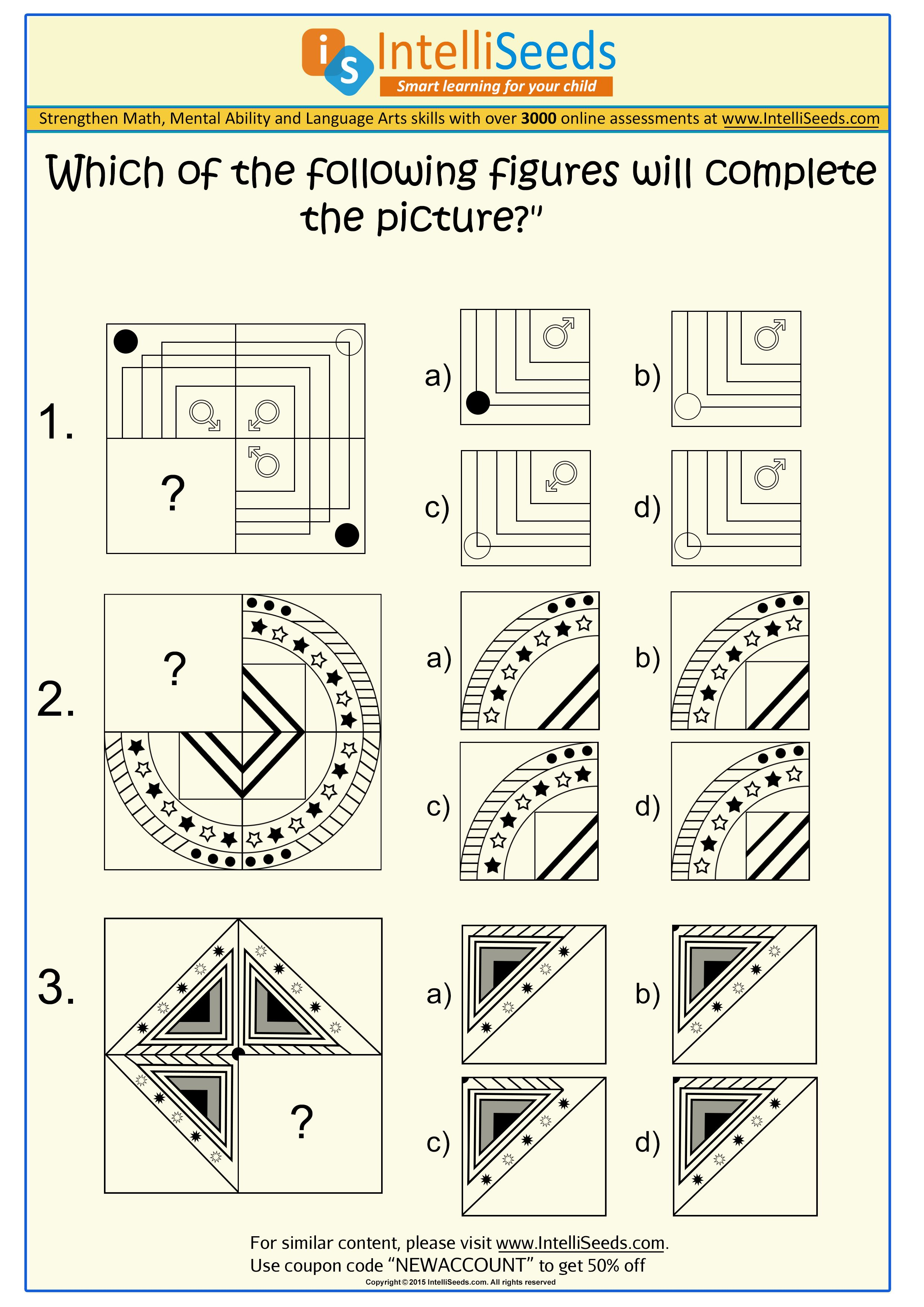 Find the correct fit to complete the image